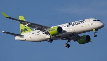 Bombardier to showcase a CS300 Aircraft in airBaltic's livery at 2017 Paris Air Show
