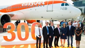 easyJet receives first of 130 Airbus A320neo aircraft