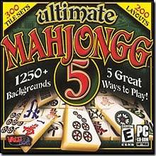 Ultimate Mahjongg 5 (Jewel Case)