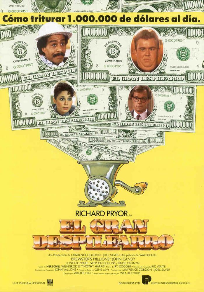 Картинки по запросу миллионы брюстера brewster's millions 1985