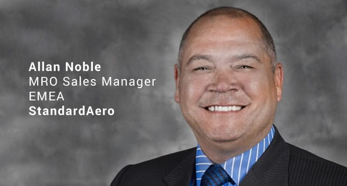 StandardAero appoints Allan Noble as MRO Sales Manager for EMEA