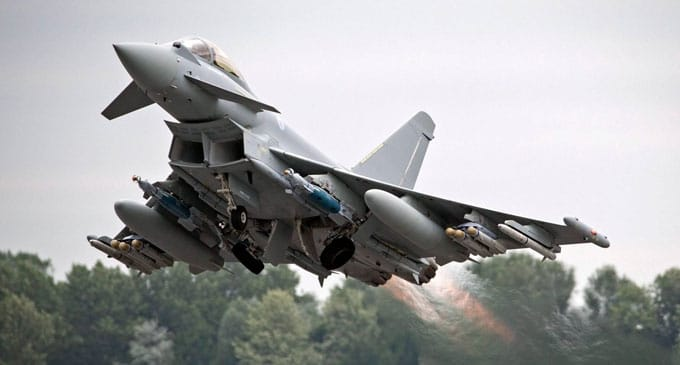NETMA and Eurofighter signs €45M DASS up-gradation contract for Eurofighter Typhoon combat jets
