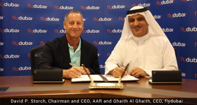 AAR, flydubai partner to support Boeing 737 MAX Aircraft