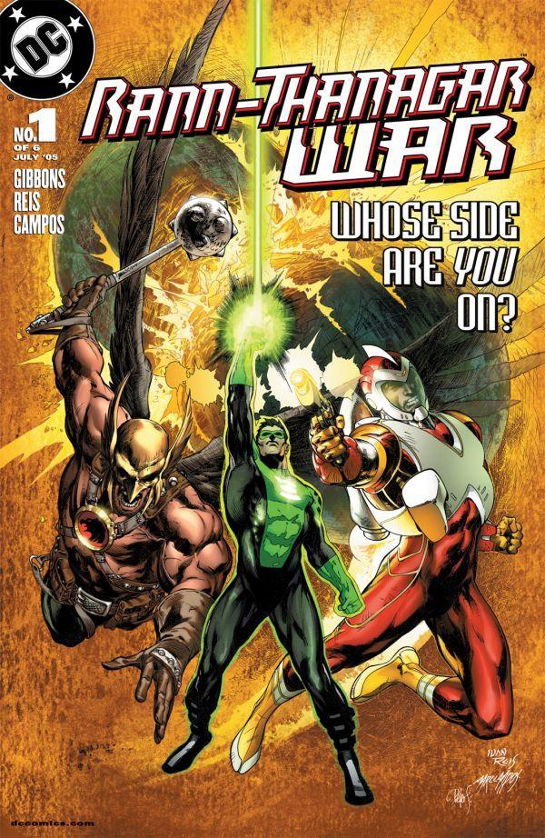 Rann Thanagar War (2005) #1-6 DC 2005