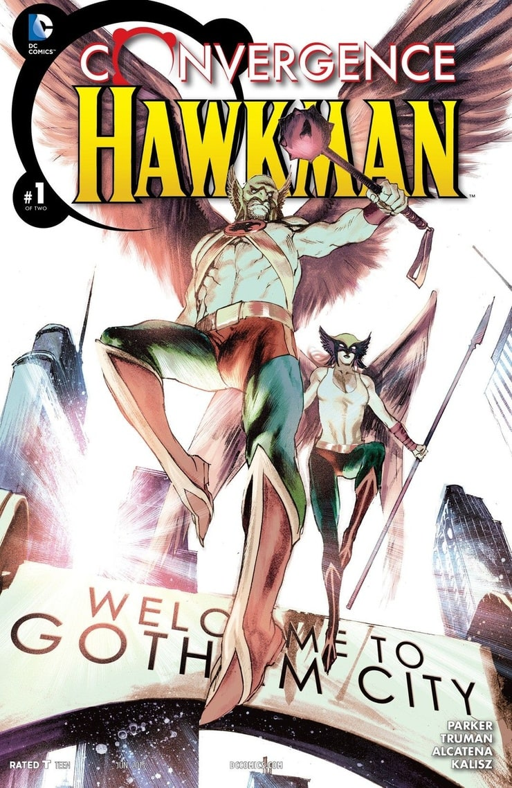 Convergence: Hawkman(2015) 2 issues
