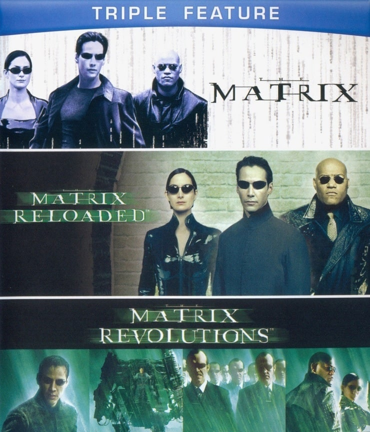 The Matrix Triple Feature (The Matrix / The Matrix Reloaded / The Matrix Revolutions)