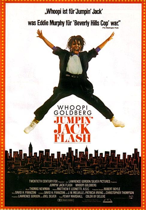 Jumpin Jack Flash Poster Jumpin' Jack Flash