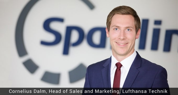 Spairliners GmbH, a joint venture between Lufthansa Technik and Air France Industries has appointed Cornelius Dalm as the new head of sales and marketing.