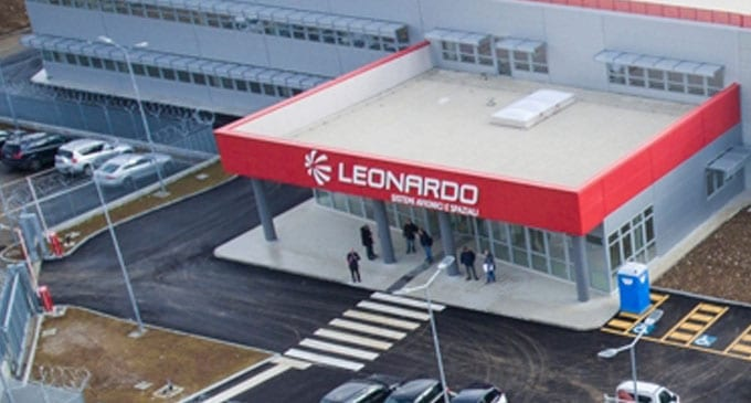 Leonardo inaugurates its new airborne systems facility in Italy