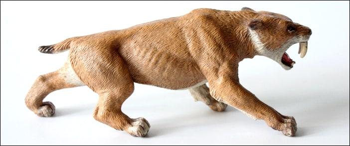 Papo Smilodon Saber-Tooth Cat