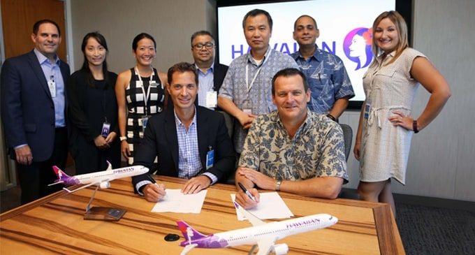 AAR, Hawaiian Airlines sign component support agreement