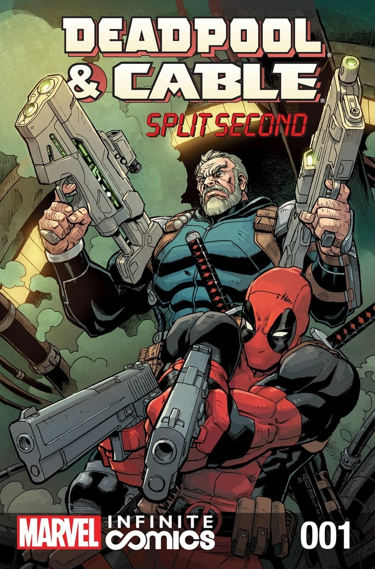 Deadpool and Cable Split Second (2015) #1-3 Marvel 2016