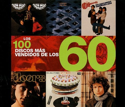Los 100 Discos Mas Vendidos De Los 60/the 100 Most Sold Albums of the 60s (Spanish Edition)