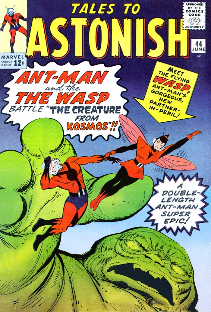 Tales to Astonish #44: Ant-Man & The Wasp