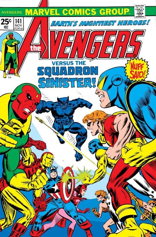 Avengers (1963-1996) #141