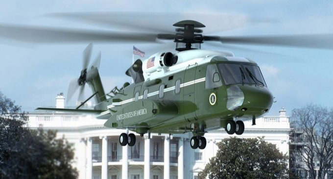 Lockheed Martin's VH-92A Presidential Helicopter completed maiden flight