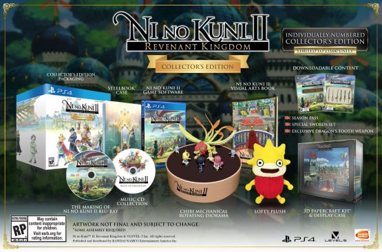Ni no Kuni 2 Revenant Kingdom Collector's Edition