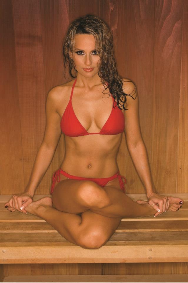 Sexy women in gym shorts