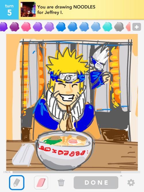 Draw Noodles