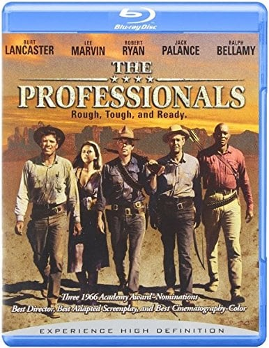 The Professionals - All Region blu-ray import