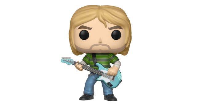 Funko Pop Music: Kurt Cobain (Teen Spirit) Collectible Figure