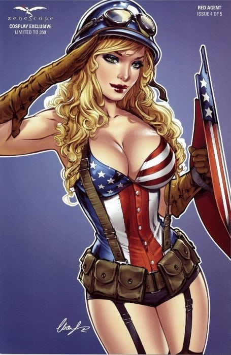 Grimm Fairy Tales Presents: Red Agent