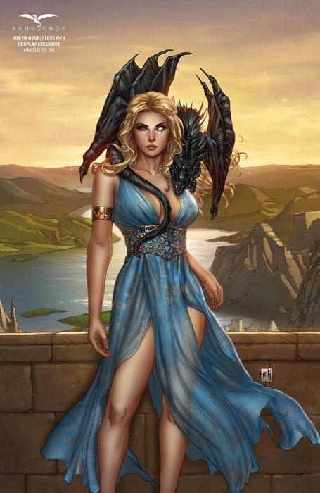 Grimm Fairy Tales Presents: Robyn Hood - I Love NY