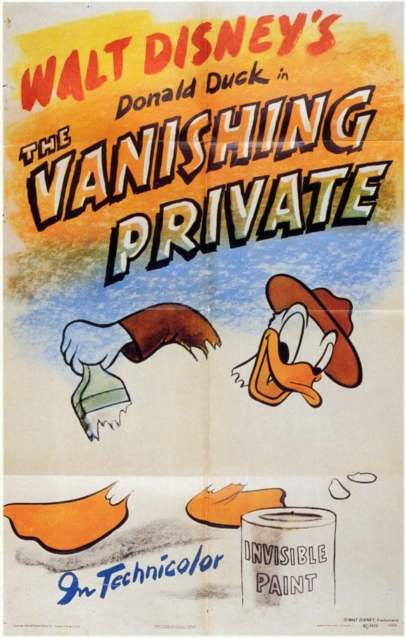 The Vanishing Private