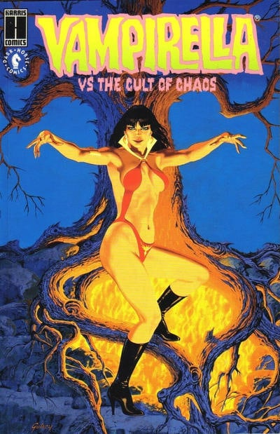 Vampirella vs. the Cult of Chaos