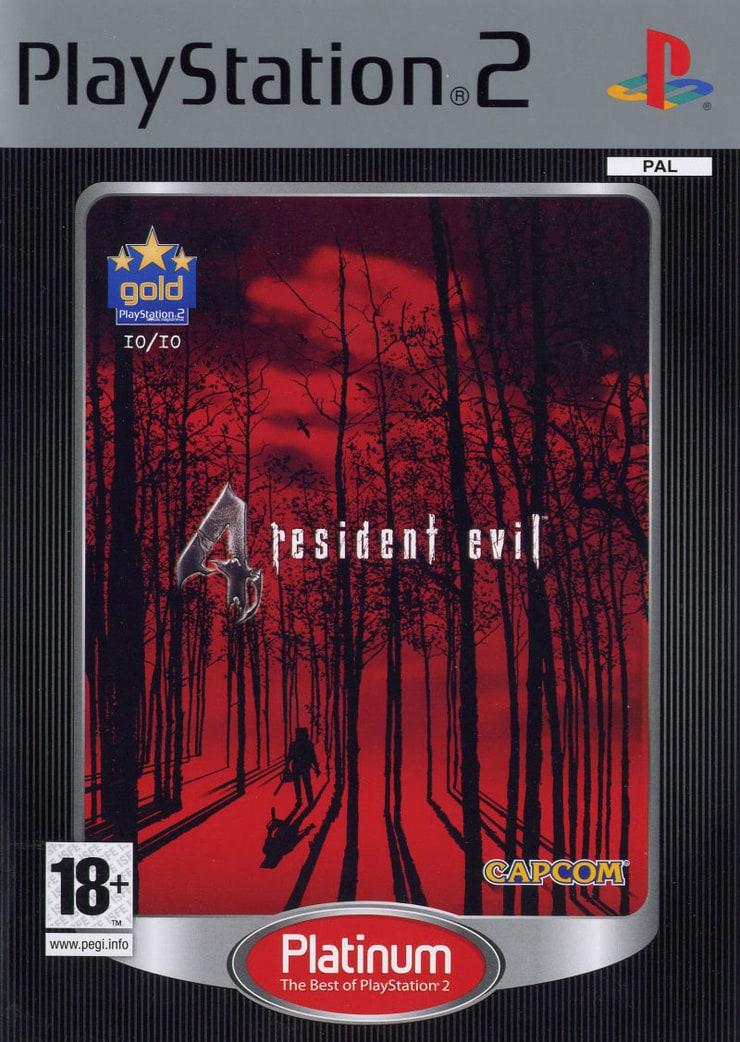 Resident Evil 4 Platinum Pal Cover