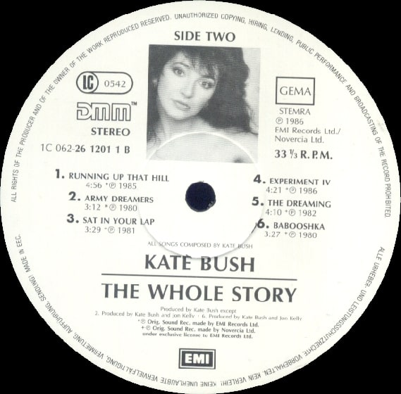 Picture of Kate Bush: The Whole Story
