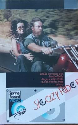 Sleazy Rider [VHS]