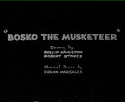 Bosko the Musketeer