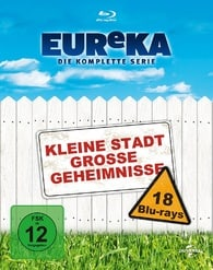 Eureka - The Complete Series  German Packaging, English is a language option.
