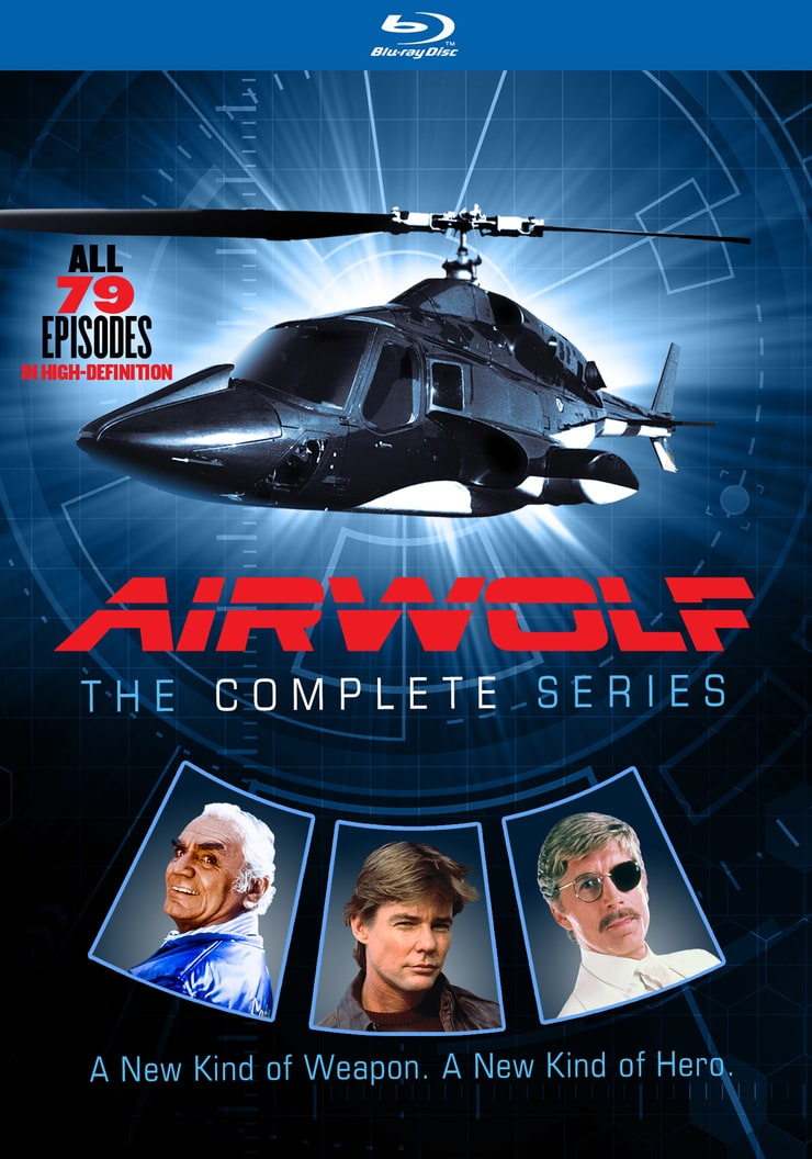 Airwolf - The Complete Series - BD
