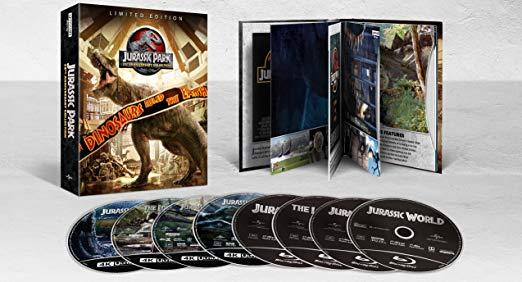 Jurassic Park Collection 4K Blu-ray