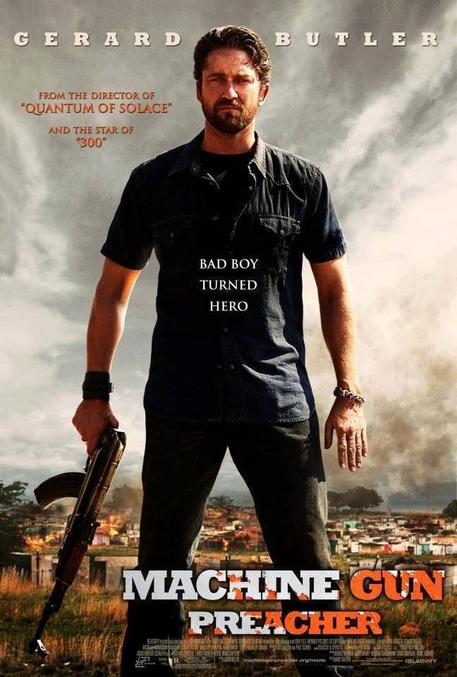 Picture Of Machine Gun Preacher
