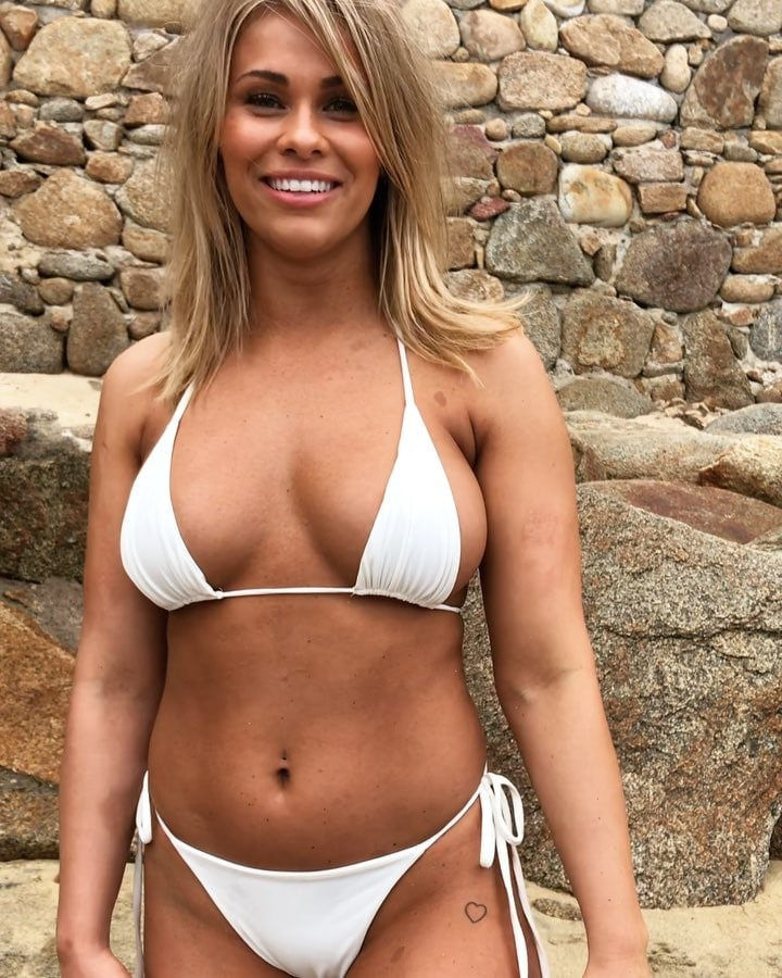 Camille Kostek Publishes Pictures Of Her Si Swimsuit Shoot: Picture Of Paige VanZant
