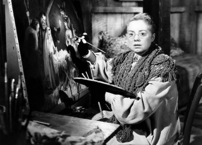 Elsa Lanchester in Come to the Stable (1949)