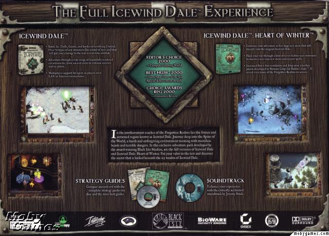 Icewind Dale & Heart of Winter