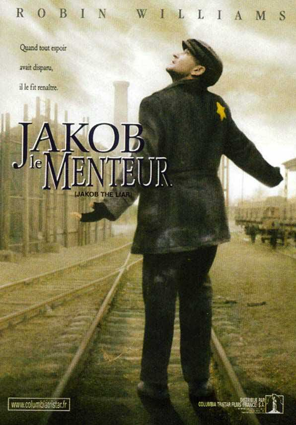 book reportanalysis of jakob the liar The last shot of jakob the liar (don't worry, it has nothing much to do with the rest of the film) shows an american jazz band playing in a field near the death.