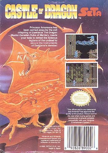 Castle of Dragon
