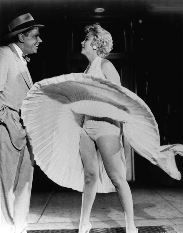 Marilyn monroe upskirt foto