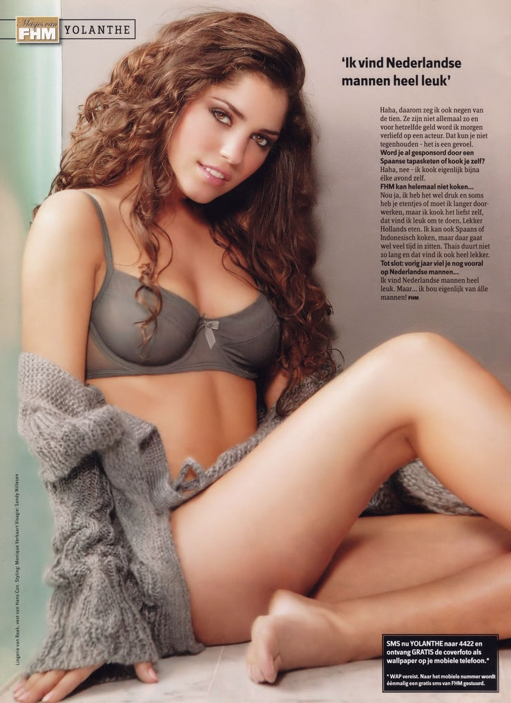 Yolanthe Cabau Van Kasbergen nude, topless