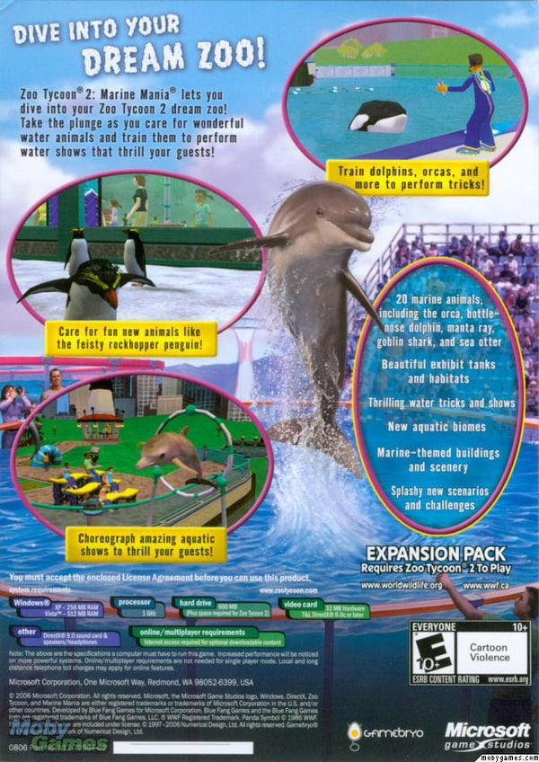 zoo tycoon 2 ultimate collection  softonic software