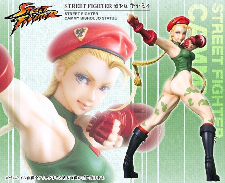 Street Fighter Cammy Bishoujo Statue