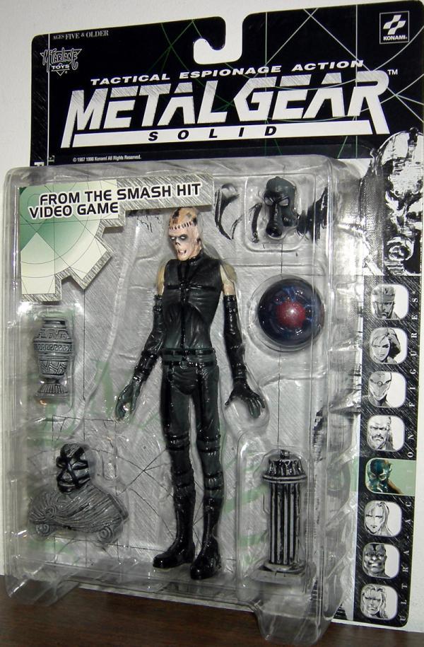 Metal Gear Solid Psycho Mantis Action Figure