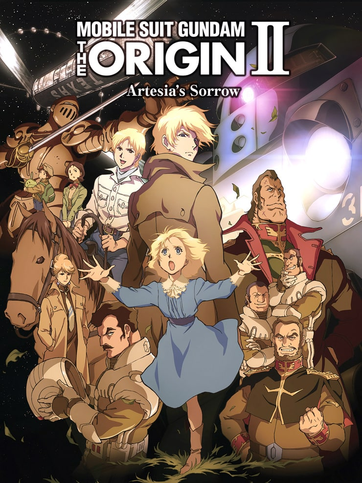 Mobile Suit Gundam the Origin II Artesia's Sorrow