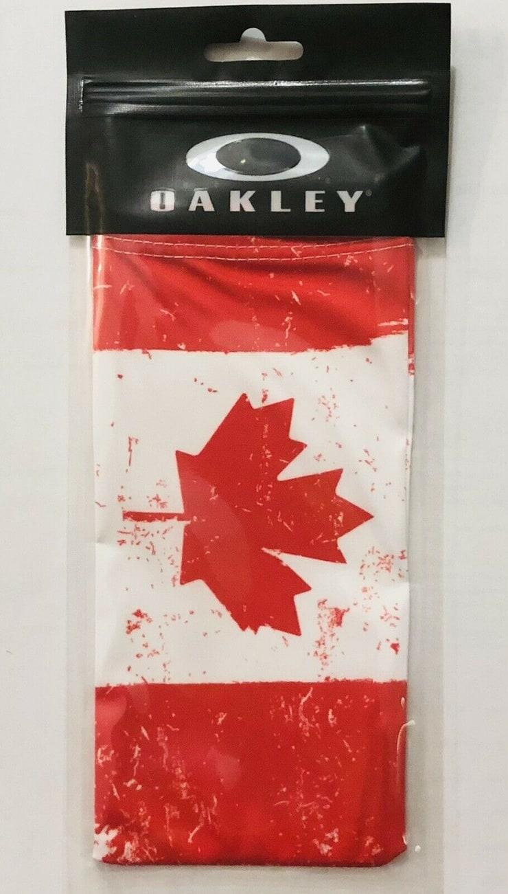Oakley Canadian Flag Sunglasses Bag