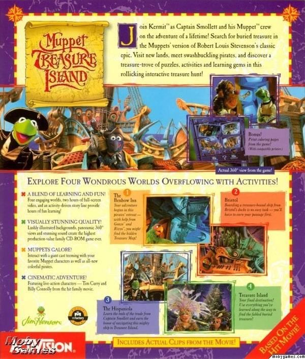 Muppet Treasure Island Computer Game